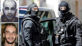Zwei Islamisten planten einen Anschlag in Frankreich.