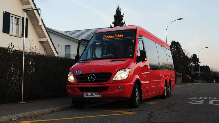 Der Stadtbus wird zukünftig auch in der Habich-Dietschy-Strasse halten.