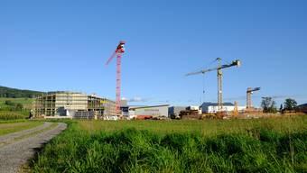 Zwei Drittel der ehemaligen Landwirtschaftsfläche sind bebaut. Damit ist die Umzonung des Gontenschwiler «Mättenfelds» in eine Industriezone rechtsgültig.