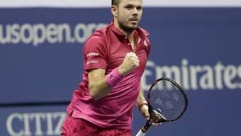 Stan Wawrinka spielt am Freitagabend um den Einzug in seinen dritten Grand-Slam-Final
