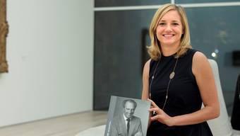 Buchvernissage: Autorin Esther Keller stellt die Biografie «Ernst Beyeler. Von Kunstbewegt» vor in der Fondation Beyeler.