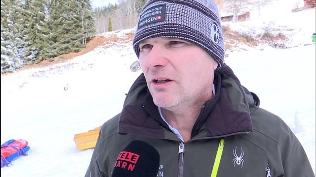 Lauberhorn verschiebt Slalomabfahrt