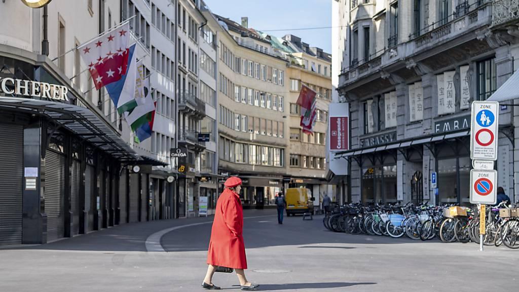 In Luzern sind die teuersten Geschäftslagen billiger geworden