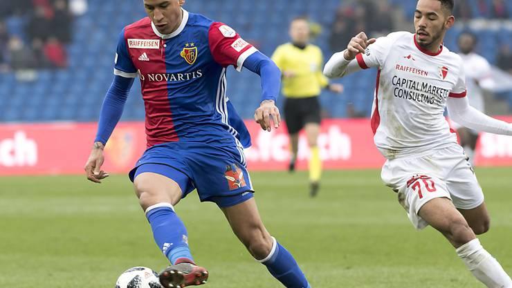 Léo Lacroix, zuletzt im Dress des FC Basel, spielt ab sofort beim Bundesliga-Absteiger Hamburger SV