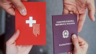 In der Schweiz sind die Bedingungen für eine Einbürgerung verhältnismässig streng.