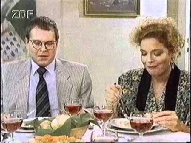 Hans Heinz Moser als Dr. Bayer in der ZDF-Serie «Ein Heim für Tiere» (1989)