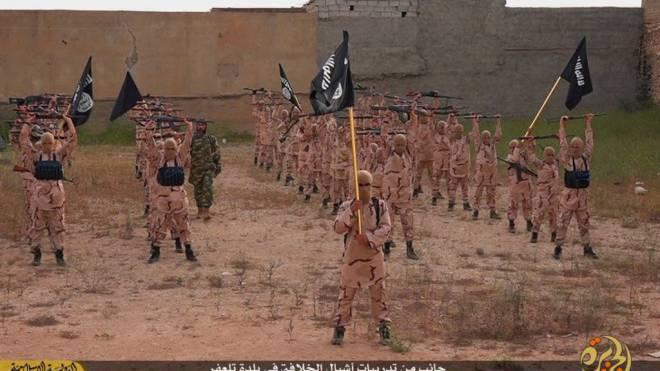 Auf allen Kanälen präsent: Botschaften des Islamischen Staats. Foto: KEYSTONE