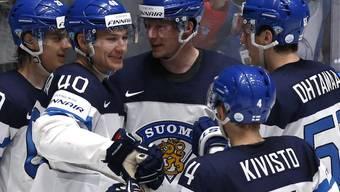 Die Finnen freuen sich über den Finaleinzug