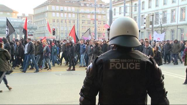 WEF-Demo: Bern fordert Kostenbeteiligung vom Bund