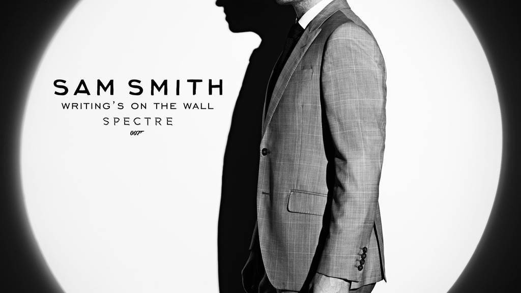 """Sam Smith singt den Titelsong """"Writing's On The Wall"""" zu """"Spectre""""."""