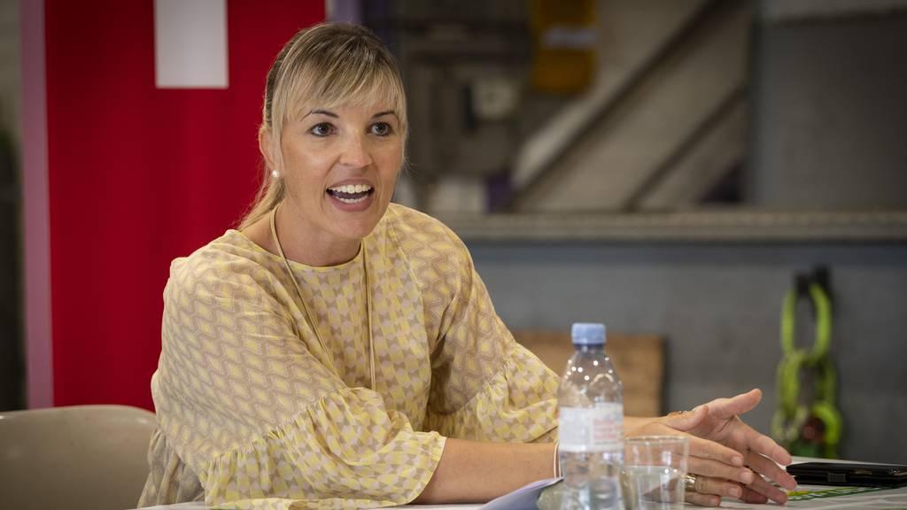 SVP-Politikerin Diana Gutjahr ist schwanger
