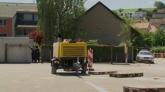 Mysteriöser Polizeieinsatz in Erlinsbach