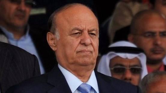 Jemens aktueller Machthaber Abed Rabbo Mansur Hadi.