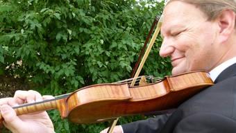 Markus Lehmann spielt seit 49 Jahren Violine. ZVG