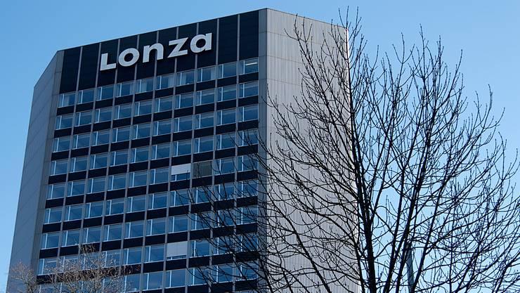 Der Hauptsitz von Lonza in Basel.