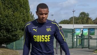 Manuel Akanji hat sich im Match gegen Irland in Dublin am Sprunggelenk verletzt