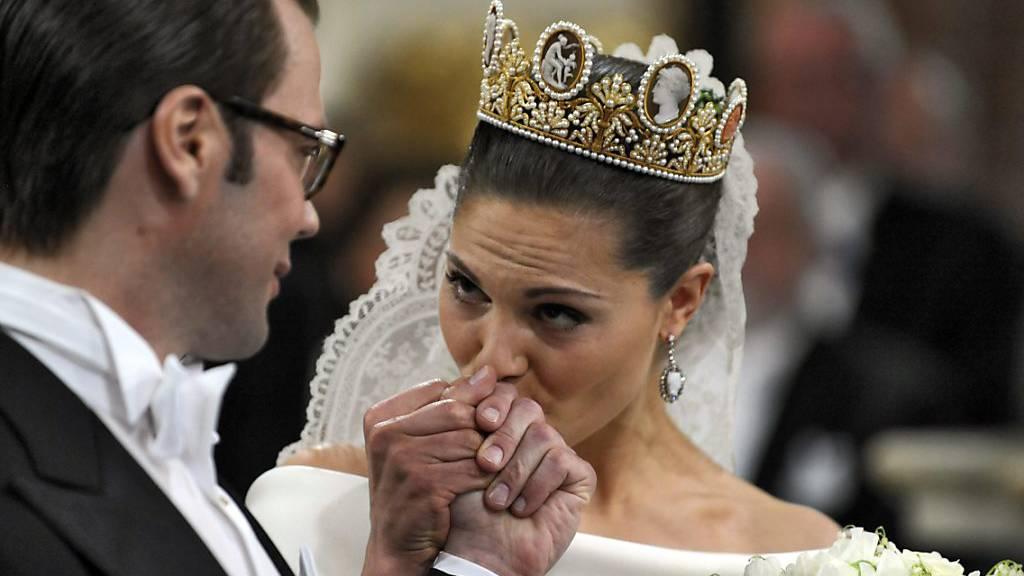 Zehnter Hochzeitstag für Kronprinzessin Victoria