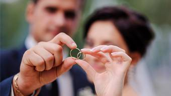 393 Ehen wurden 2018 auf den beiden Zivilstandsämtern in Laufenburg und Rheinfelden geschlossen. Shutterstock