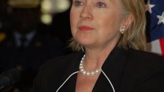 Hillary Clinton ins Spital eingeliefert