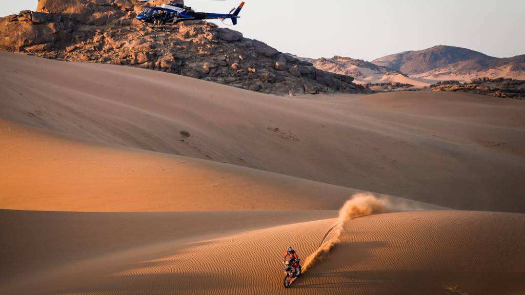 Gefährliches Spektakel: Die Rallye Dakar kostet auch in diesem Jahr einem Teilnehmer das Leben