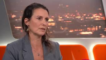 TalkTäglich: Sexualbegleiterin Andrea im Gespräch mit Tele-Züri-Moderator Oliver Steffen.