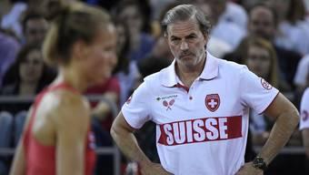 Fed-Cup-Captain Heinz Günthardt ist zuversichtlich.