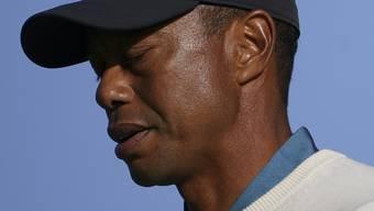 Tiger Woods ein wenig nachdenklich
