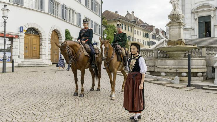 Marie-Christine Egger ist Stadtführerin in Solothurn.