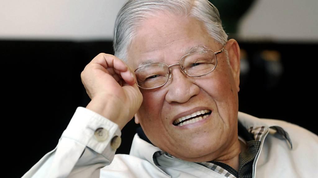 Taiwans erster freigewählter Präsident Lee Teng-hui gestorben