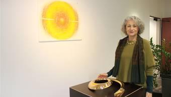 Giulietta Cocco zeigt ihre Werke in der Regiobank.