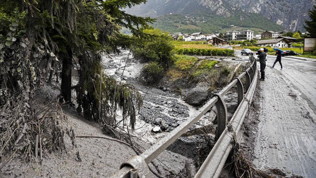 Keine Hoffnung auf Überlebende nach Unwetter im Wallis