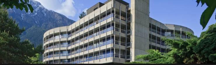 Das letzte grosse Spitalprojekt des Basler Architekturbüros Burckhardt + Partner AG: der Neu- und Umbau des Spitalzentrums Oberwallis in Brig.