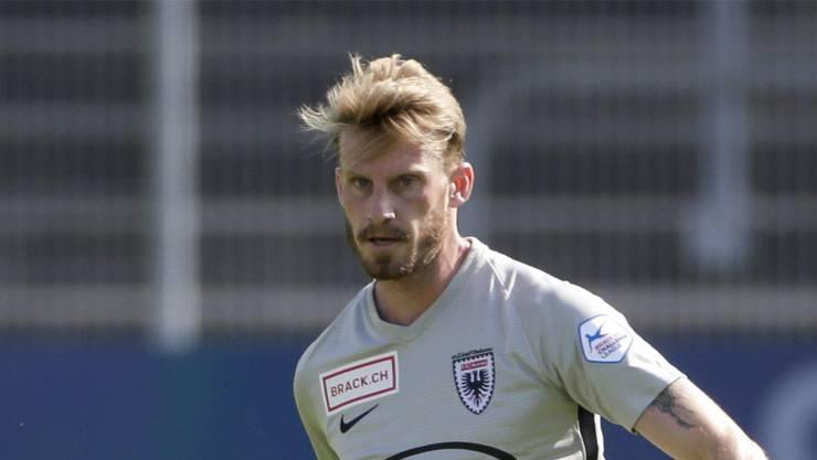 Abwehrspieler Nicolas Schindelholz fällt beim FC Aarau bis auf weitere aus