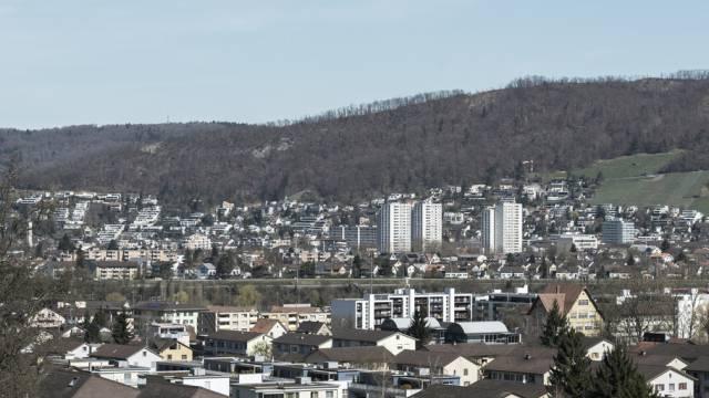 Blick von Neuenhof auf Wettingen (Archiv)