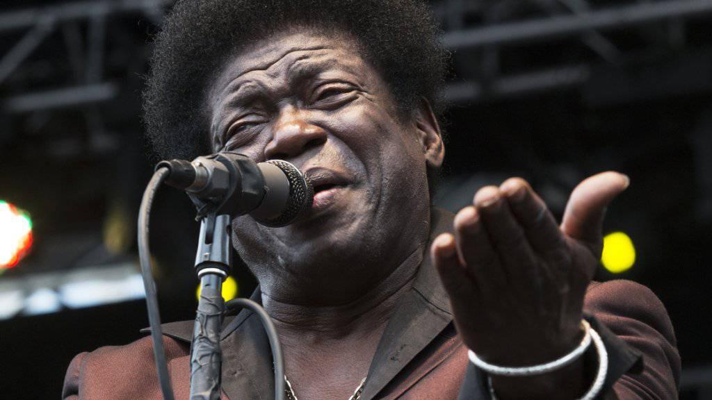 Der Soul-Sänger Charles Bradley ist seinem Krebsleiden erlegen. (Archivbild)