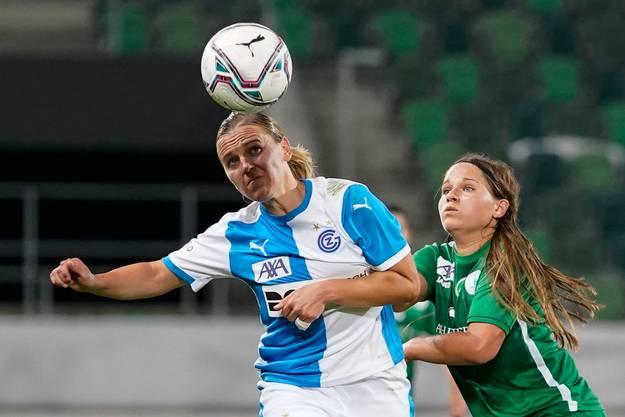 Packende Duelle, intensives Spiel, tolle Spielzüge: Die Partie St.Gallen Staad gegen GC erfüllt die Erwartungen.