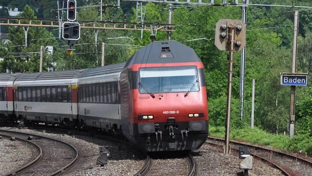 Mehrere S-Bahnen fahren fünf Wochen lang nicht zwischen Brugg, Turgi und Baden.