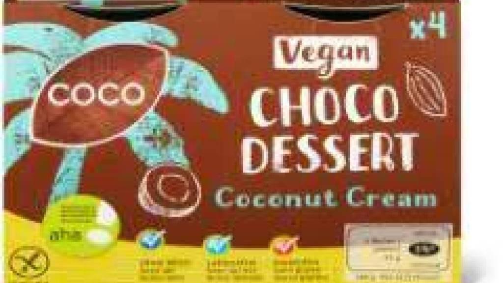 Veganes und laktosefreies  Migros-Dessert enthält Milch