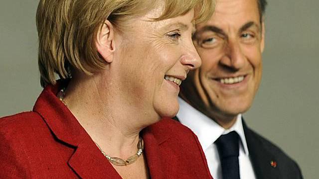 Angela Merkel und Nicolas Sarkozy (Archiv)