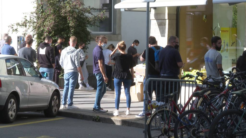 Ausgebucht: Die Aargauer Corona-Testzentren haben für das Wochenende keine Termine mehr