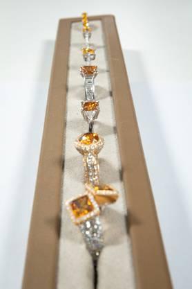 Nur der kleinere Teil der Diamanten, die im Labor bei Biel produziert werden, wird zu klassischen Schmuckstücken verarbeitet.