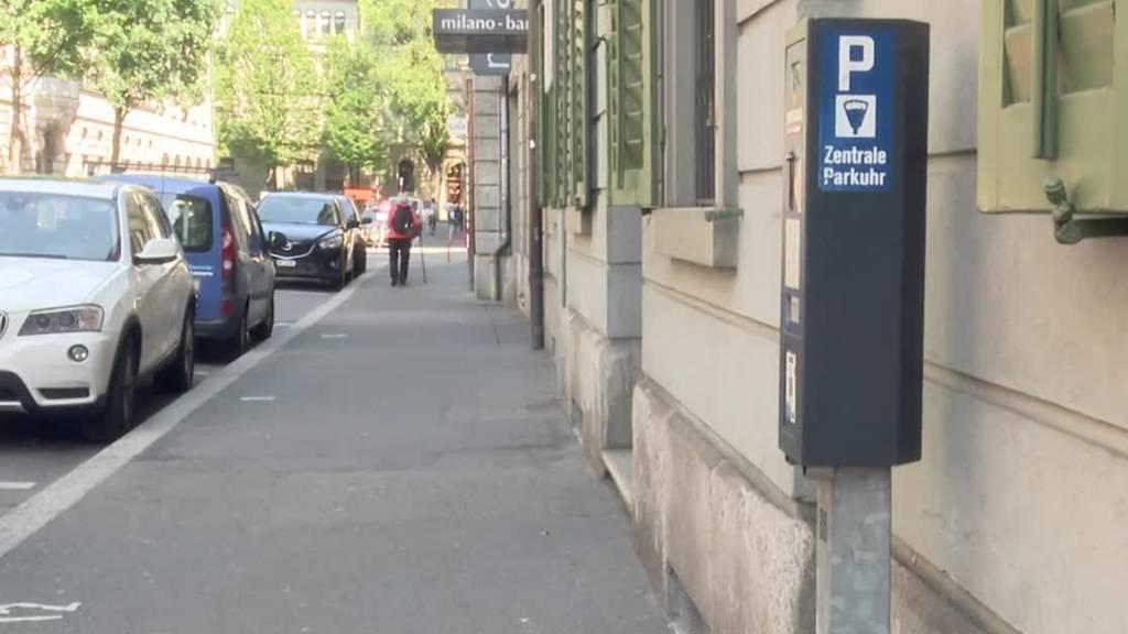 In der Stadt Luzern wird parkieren teurer