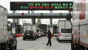 Lastwagen in Südkorea (Archiv)