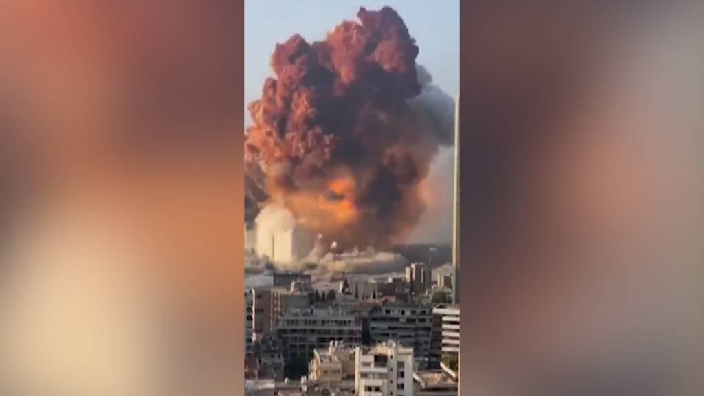 Heftige Explosion in Beirut: Zahl der Todesopfer steigt auf 100