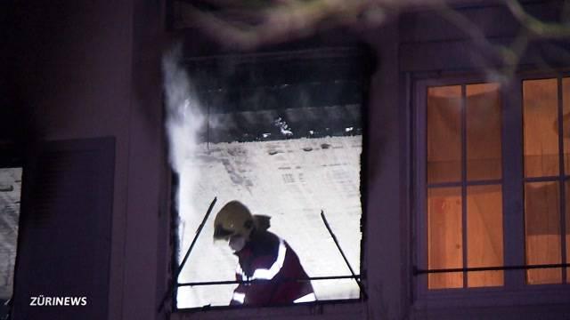 Wohnungsbrand fordert eine Tote