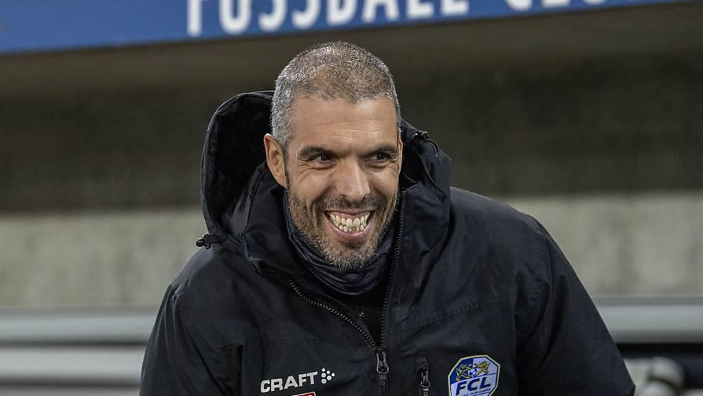Weiterhin mit Freude dabei: Fabio Celestini kann sein Projekt in Luzern fortsetzen und erhält bis 2023 das Vertrauen des Klubs