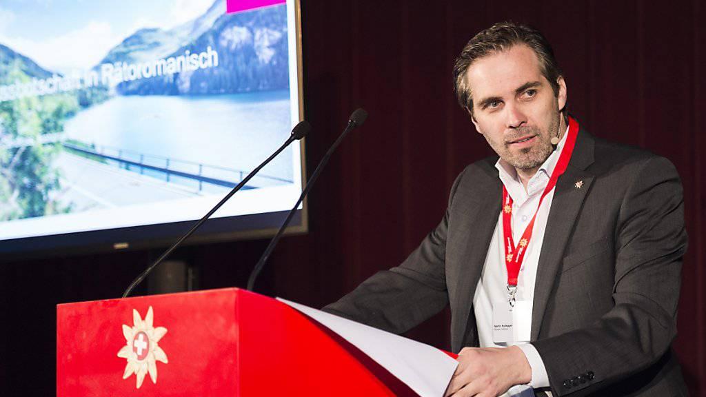 Martin Nydegger ist der neue Direktor von Schweiz Tourismus. (Archivbild)