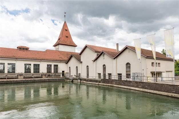 Das Wasserkraftwerk der Eniwa (vormals IBAarau) in Aarau. Archiv