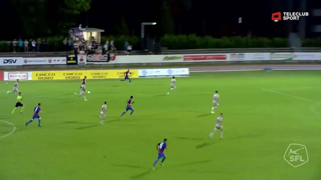 73. Minute: Pollero besiegelt den Sieg für Chiasso