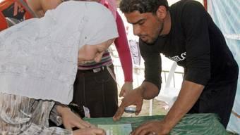 Die Stimmen im Irak werden nochmasl ausgezählt (Archiv)
